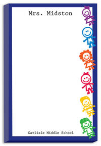 Colorful Kids Notepad