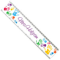 Colorful Hands Acrylic Ruler