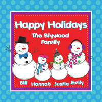 Snowman Family Square Gift Stickers