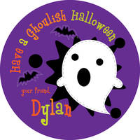 Ghostly Ghost Gift Stickers