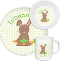 Carrot Grab Melamine Set