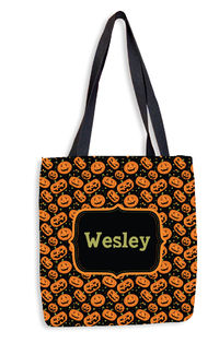 Carved Pumpkin Treat Bag