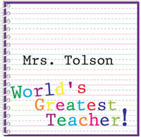 Greatest Teacher Journal | Notebook