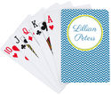 Slate Blue Playing Cards