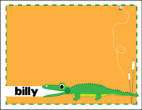 Alligator Chomp Foldover Card