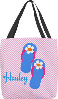 Blue Flip Flop Tote Bag