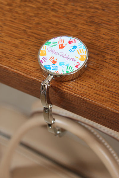 Colorful Hands Purse Hook