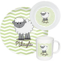 Little Lamb Melamine Set