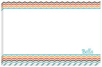 Teal Chevron NotePad