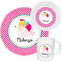 Pixie Princess Melamine Set