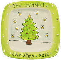 Christmas Tree Family Platter