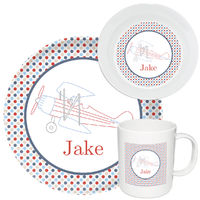 Airplane Melamine Set
