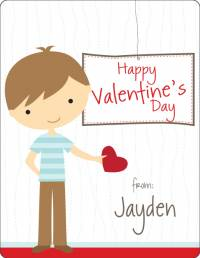 personalized kids valentines day cards gift online