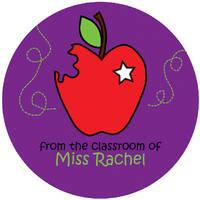 An Apple A Day Gift Sticker