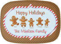 Gingerbread Family Platter