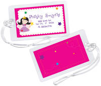 Fairy Princess Luggage Tag