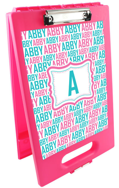 Name it Blue Clipboard Storage Case