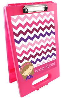 Girly Girl Clipboard Storage Case