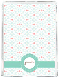 Abstract Floral Memo Sheets