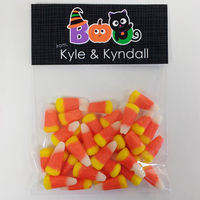 Halloween Boo Candy Bag Toppers