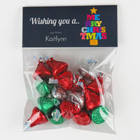 Merry Tree Candy Bag Toppers