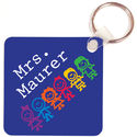 Colorful Kids Key Chain