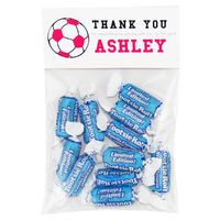 Soccer Girl Birthday Party Candy Bag Favors