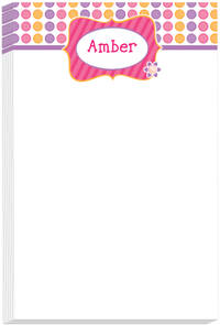 Doodle Dots Note Pad