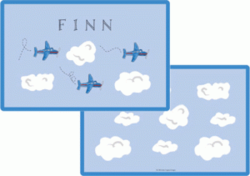 Airplanes Placemat P-801