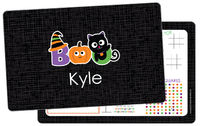 Halloween Boo Dry Erase Placemat