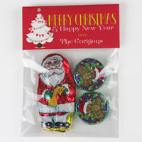 White Christmas Tree Candy Bag Toppers