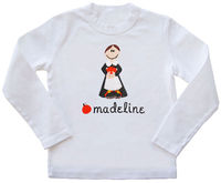 Pilgrim Girl Embroidered Shirt