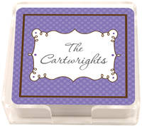 Cafe Lavender Coasters