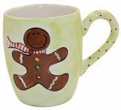 Gingerbread Ceramic Mug