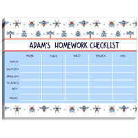 Beatles Bugs Homework Checklist