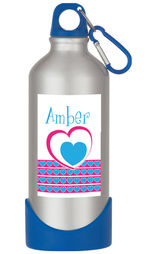 Heartline Pink Water Bottle