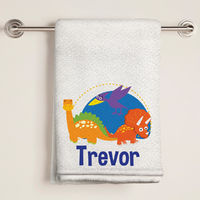 Dinosaur Fun Bath Towel