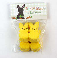 Carrot Grab Easter Candy Bag Toppers