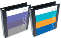 Color Blocks Binder Insert Set