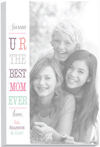 Side Banner Mom Photo Note Pad