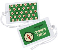Camp Compass Luggage Tag