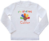 Baby Turkey Embroidered Shirt