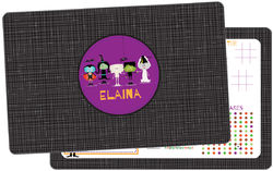 Ghoulish Friends Dry Erase Placemat
