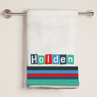 Cool Letters Bath Towel