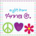 Bright Stitches Gift Stickers