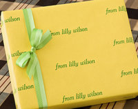 Louisville Lemon Recycled Gift Wrap