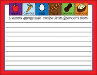 Allergy Safe Recipe Multi Card