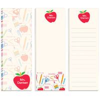 Desk Supplies Skinny Pad Set