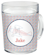 Airplane Clear Acrylic Mug