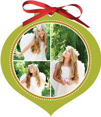 Enchanting Wishes Ornament Card